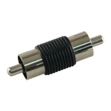 CON245 : RCA male to RCA male connector - 10 pcs