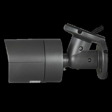 "CAM-027G-Q4N1: 5Mpx/4Mpx PRO Bullet camera - 4 in 1 (HDTVI / HDCVI / AHD / CVBS) - 1/2.7"" SmartSens© SC5035+FH8538M - 3.6 mm Lens - IR LEDs Array Range 30 m - OSD remote menu from DVR"