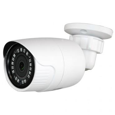"CAM-029IB-4N1: 720p ECO Bullet Camera - 4in1 (HDTVI / HDCVI / AHD / CVBS) - 1/3"" 1.3 Mpx PAS5130 - 3.6 mm Lens - 18 IR SMD LEDs Range 20 m - Weatherproof IP66"