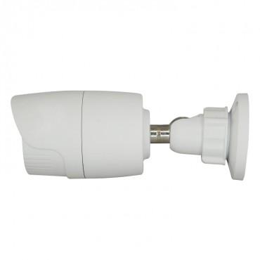 "CV029IB-4N1: 720p ECO Bullet Camera - 4in1 (HDTVI / HDCVI / AHD / CVBS) - 1/3"" 1.3 Mpx PAS5130 - 3.6 mm Lens - 18 IR SMD LEDs Range 20 m - Weatherproof IP66"