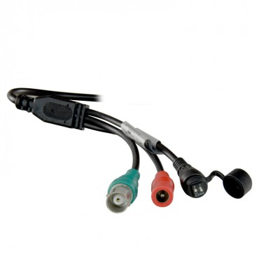 "CAM-608ZKIB-F4N1: HDTVI, HDCVI, AHD and Analogue bullet camera, 1/2.7"" Aptina© 2.1 Mp, HD 1080P (1920x1080), 1000TVL (Analogue), Output 4in1, Motorised Lens 2.8~12mm, 0Lux, IR20m, IP66"