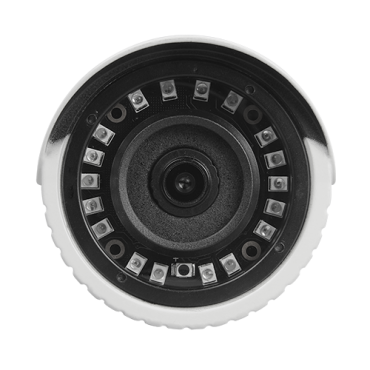 "CV029IB-Q4N1: 5Mpx/4Mpx PRO Bullet camera - 4 in 1 (HDTVI / HDCVI / AHD / CVBS) - 1/2.7"" SmartSens© SC5035+FH8538M - 3.6 mm Lens - IR LEDs Array Range 20 m - OSD remote menu from DVR"