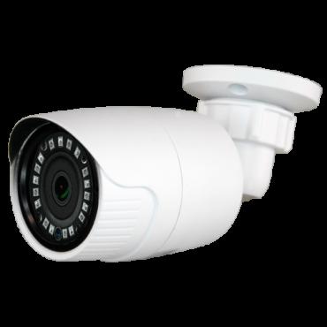 "CAM-029IB-Q4N1: 5Mpx/4Mpx PRO Bullet camera - 4 in 1 (HDTVI / HDCVI / AHD / CVBS) - 1/2.7"" SmartSens© SC5035+FH8538M - 3.6 mm Lens - IR LEDs Array Range 20 m - OSD remote menu from DVR"