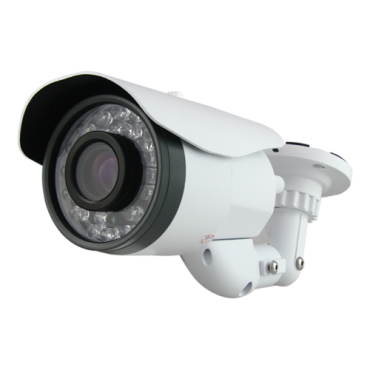 "CV081VFIB-F4N1: HDTVI, HDCVI, AHD and Analogue camera - 1080p (25 fps) - 1/2.9"" Sony© 2.19 Mpix Exmor - 5~50 mm Varifocal lens - 6 LEDs Array Range 100 m - Remote OSD menu"