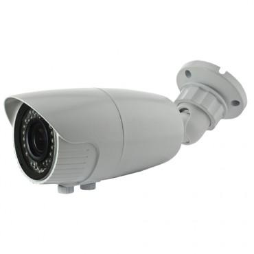 CAM-129VIB-4N1: HDTVI, HDCVI, AHD and Analogue bullet camera, 1.3 Megapixel, HD 720P (1280x720), 1000 TVL (Analogue), Lens 2.8~12 mm, 0 Lux, IR 40m, 2DNR, Weatherproof IP66