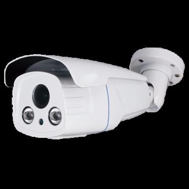 """CAM-621Z-F4N1: HDTVI, HDCVI, AHD and Analogue bullet camera - 4 in 1 (HDTVI / HDCVI / AHD / CVBS) - 1/2.7"""" CMOS 2 Megapixel - 2.7~13.5 mm motorised AF lens - IR LEDs Array Range 60 m - OSD remote menu from DVR"""