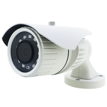 "CAM-780-Q4N1: 5Mpx/4Mpx PRO Bullet camera - 4 in 1 (HDTVI / HDCVI / AHD / CVBS) - 1/2.5"" Aptina© AR0521+FH8538M - 3.6 mm Lens - IR LEDs SMD Range 20 m - OSD remote menu from DVR"