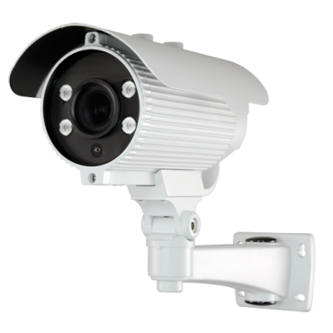 "CV945ZIB-F4N1: 1080p PRO Bullet camera - 4 in 1 (HDTVI / HDCVI / AHD / CVBS) - 1/2.7"" Brigates© BG0806 - Motorised Lens with Autofocus 2.8~12mm - 40 m IR Array LEDs range - OSD remote menu from DVR"