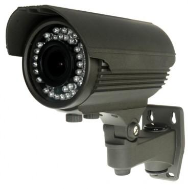 CV946VI-4N1 : HDTVI, HDCVI, AHD and Analogue bullet camera, 1.3 Megapixel, HD 720P (1280x720), 1000 TVL (Analogue), Lens 2.8~12 mm, 0 Lux, IR 40m, 2DNR ,Weatherproof IP66