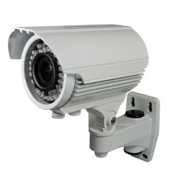 "CAM-946VIB-F4N1: HDTVI, HDCVI, AHD, CVBS 4n1 Bullet camera, 1/2.7"" OmniVision© OV2710, Varifocal lens 2.8~12mm, IR 40m, OSD remote menu from DVR"