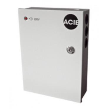 PAC1.5-12 : Powersupply 12VDC, 1,5Amp in steel cabinet