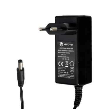 DC12V2A: Power supply - Output DC 12 V 2 A - 1 output - Jack standard - Stabilised - Cable length 1.5m