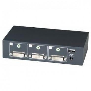 DS02A: 2 input 1 output DVI Switcher With Stereo Audio