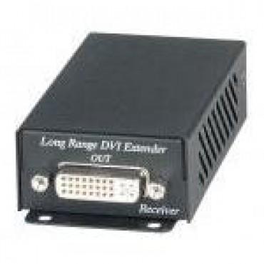 DE02E: DVI CAT5 Extra Long Range Extender over Single cable 100M 1920 x 1200 (DE02ET + DE02ER) (2 pcs / set)