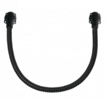 DLN10 : Black door loop - 50 cm diameter 13/10 mm