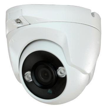 "DM821IB-F4N1: 1080p ECO Dome Camera - 4 in 1 (HDTVI / HDCVI / AHD / CVBS) - 1/2.7"" 2.1 Mpx BG0806 - 3.6 mm Lens - 2 LEDs Array IR Range 30 m - Weatherproof IP66"