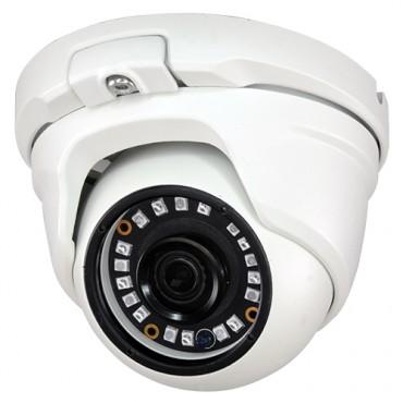 "CAM-941IB-F4N1: Dome camera Range 1080p ECO, 4 in 1 (HDTVI / HDCVI / AHD / CVBS), 1/2.7"" OmniVision© OV2710, Lens 3.6mm, IR 20m, OSD remote menu from DVR"