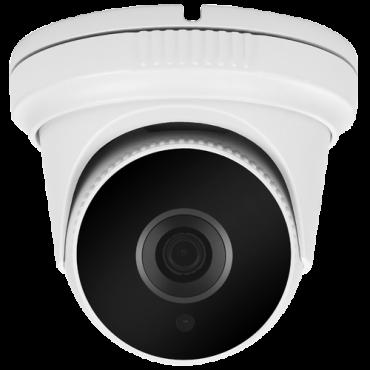 "DM944-Q4N1: Dome camera Range 5Mpx/4Mpx PRO - 4 in 1 (HDTVI / HDCVI / AHD / CVBS) - 1/2.5"" Aptina© AR0521+FH8538M - 3.6 mm Lens - IR LEDs SMD Range 20 m - OSD remote menu from DVR"
