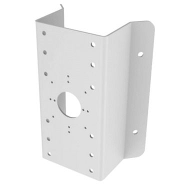 DS-1276ZJ: Corner Mount - Opening angle 90º - Valid for exterior use - White colour - Cable pass
