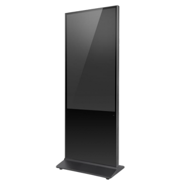 """DS-D6055FL-B/S: 54.5"""" Hikvision Monitor - Interactive screen - Vertical Format - Specifically for news and information - Resolution 1920x1080 - Integrated speakers"""