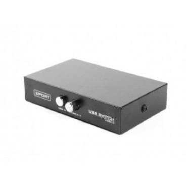 DSU-21: 2-port manual USB switch - Interface supported: USB 2.0/1.1 - compatible hosts; USB 3.0/2.0/1.1 device