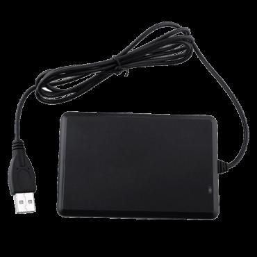 VT-EM-USB-READER: USB card reader - Cards EM 125 KHz - USB communication - Keyboard simulation - Plug & Play - Suitable for Access Control software