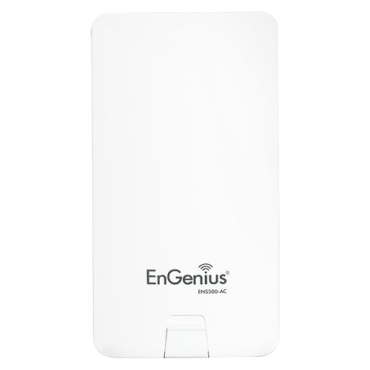 ENS500-AC: EnGenius wireless link - Frequencies 5.15GHz - 5.85 GHz - Supports 802.11ac/a/n - Suitable for indoor - 14 dBi double integrated antenna - Transmission speed up to 867 Mbps