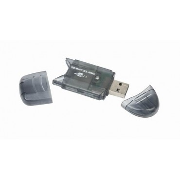 FD2-SD-1: USB mini card reader/writer - USB 2.0 - Supports all SD, MMC and RS-MMC cards