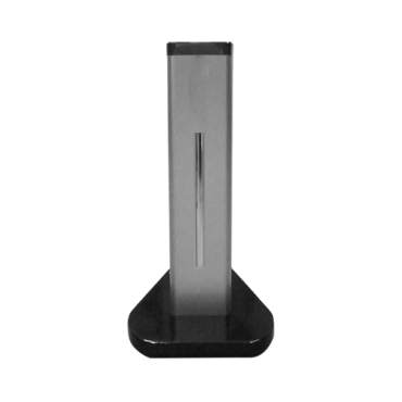 FT-BRACKET-55: Floor stand - Specific for access control - Compatible with FACE-TEMP-T - Cable routes - 600mm (H) x 260.5mm (W) x 260.5mm (D) - Made of SPCC
