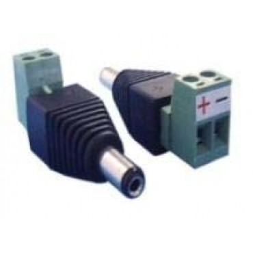 CON280 : DC female connector with +/- 2 terminal output - 1 unit