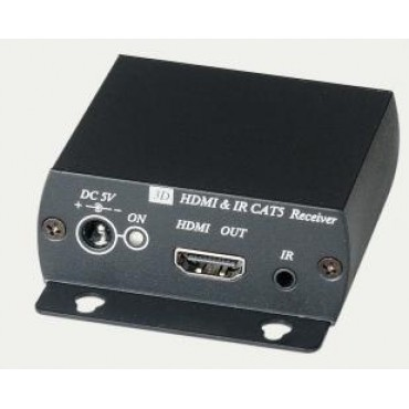 HE01SI: HDMI & IR CAT5 Extender over one CAT5 cable (2pcs/one set) 1080p 40M