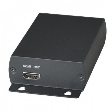 HE03: HDMI 1 in 2 out Distributor over CAT5e (over IP solution) 150M  (HE03T+HE03R)