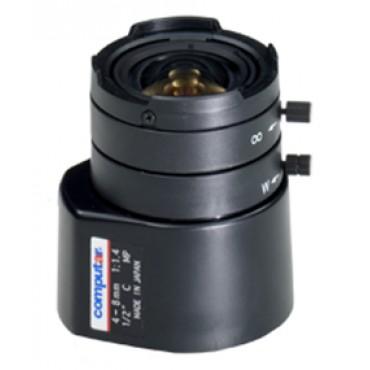 """HG2Z0414FC : Megapixel Varifocal lens 1/2"""" 4 - 8 mm"""