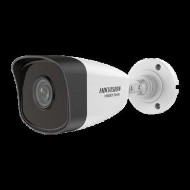 """HWI-B141H-0600: 4 Megapixel Hikvision IP Camera - 1/3"""" Progressive Scan CMOS - Compression H.265+/H.265/H.264+/H.264 - 6 mm Lens - EXIR IR LEDs range 30 m - WEB, CMS Software, Smartphone and NVR"""