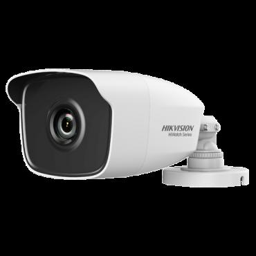 HWT-B240-M: Hikvision Bullet Camera - 4Mpx ECO / 2.8 mm Lens - 4 in 1 (HDTVI / HDCVI / AHD / CVBS) - High Performance CMOS - EXIR 2.0 IR range 40 m - OSD remote menu from DVR