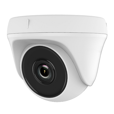 HWT-T120-P-0800: Hikvision Dome Camera - 1080p ECO / 8.0 mm Lens - 4 in 1 (HDTVI / HDCVI / AHD / CVBS) - High Performance CMOS - EXIR 2.0 IR range 20m - OSD remote menu from DVR