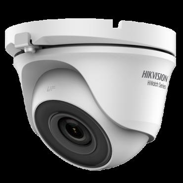 HWT-T123-M: 1080p Hikvision PRO Camera - 4 in 1 (HDTVI / HDCVI / AHD / CVBS) - Ultra Low Light - 2.8 mm Lens - EXIR 2.0 IR LEDs reach 30 m - BLC / HLC / WDR 120dB / Smart IR