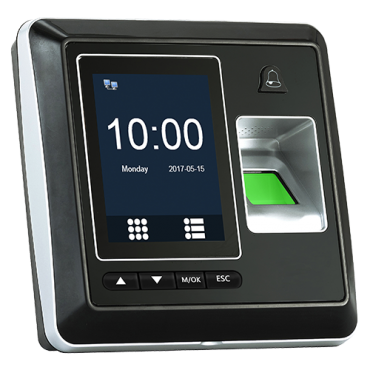 HY-AC010: Hysoon autonomous access control - Fingerprints, EM card and keypad - 3.000 recordings / 160.000 records - TCP/IP, RS485, and Wiegand 26 - Integrated controller - Free eTime software