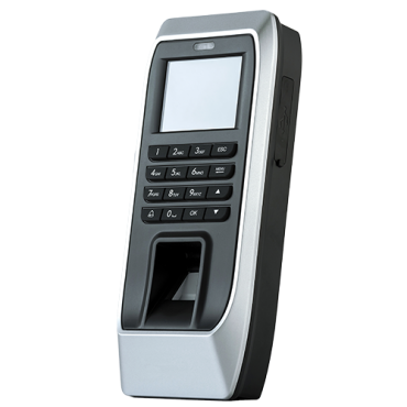 HY-AC672: Hysoon autonomous access control - Fingerprints and keyboard - 2.000 recordings / 160.000 records - TCP/IP, RS485, and Wiegand 26 - Integrated controller - Free eTime software