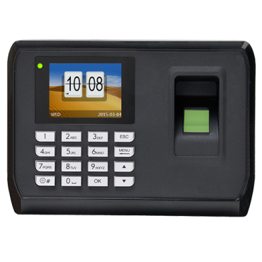 """HY-C129A-WIFI: Hysoon Time and Attendance Control - Fingerprints, EM card and keypad - 2.000 recordings / 160.000 records - TCP/IP, WiFi, USB Flash, 2.4"""" Color Screen - Time and Attendance Control Modes - Free eTime software"""