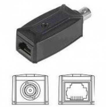 IP01-2 : IP Extender over Coax - Passive type (2 pieces/one set package) - 200m
