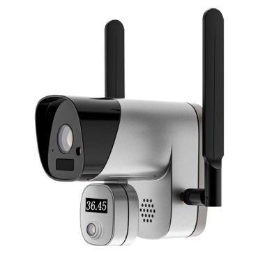 IPB503A-2TW02: 2 Megapixel IP WiFi Camera - Body temperature measurement - Accuracy ± 0.3ºC - Measuring distance up to 1.5m - Connection with Smartphone app - ONVIF for connection to NVR