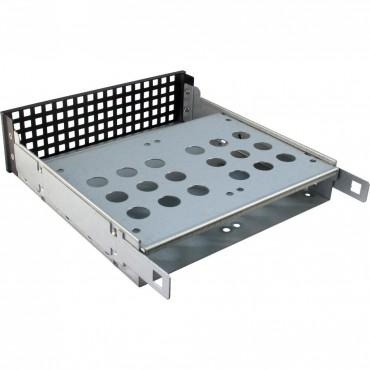 """IPC-1U-10255: 19"""" Server Case - black - 1U - form factor Mini ITX, mATX, μATX, ATX, eATX, SSI EEB - Dimensions (h/w/d) 44.5 x 482 x 578mm"""