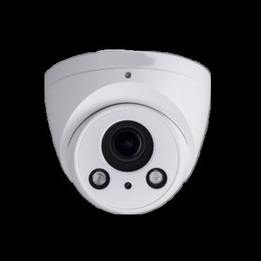 IPC-HDW4431EM-AS : 4Mp - Lens 2.8 mm - 0 Lux - IR 50m - Compression H.265+/H.265/H.264+/H.264 - RJ-45 10/100 BaseT - PoE - IP67 - IR Cut - WDR - SD card recording - Audio - Intelligent detection - ONVIF