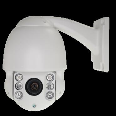 "IPSD263-10IO1: ONVIF IP PRO camera 2 Mpx - 1/2.7"" Omnivision© OV2715 CMOS - Compression H.264 - 5.1~51.0 mm Lens (10X) Auto Iris - 6 IR LED's Range 60m - IP66"
