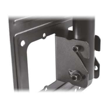 """LCDS107: VESA monitor bracket - For roof or inclined surfaces - Base/stand tilt and rotation - Extensible from 720 mm to 1590 mm - Maximum load 50 Kg - Approximately 23""""~ 43"""" screens."""