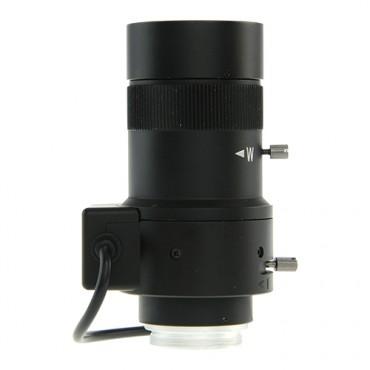 "LN05-60DC : 5-60 mm Varifocal - 1/2.7"" - F1.6 - Direct Drive Iris (DC) - CS screw - Suitable for use with IR (IR correction) - 1.3 Mega Pixel Quality"