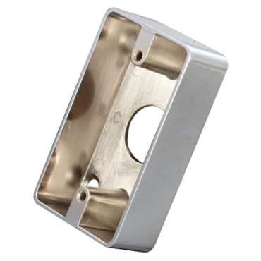 VT-MBB-811B-M: Box for push button - Compatible with PBK-(810/818A/820B) - Surface installation - Manufactured in zinc - Resistant and durable - Access hole