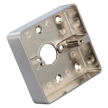 VT-MBB-811C-M: Box for push button - Surface installation - Manufactured in zinc - Resistant and durable - Access hole