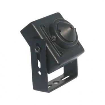 """VT-MC221J : Minicamera, 1/3 """"Sony © Super HAD CCD II, 0,3 Lux / F2.0, 3.7 mm Pinhole"""